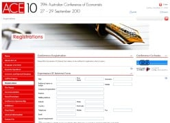 Australian Conference of Economists 2010