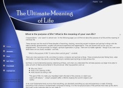 Meaning Of Life Book