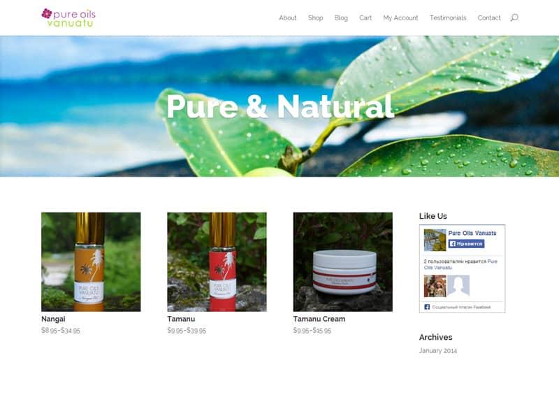 Pure Oils Vanuatu