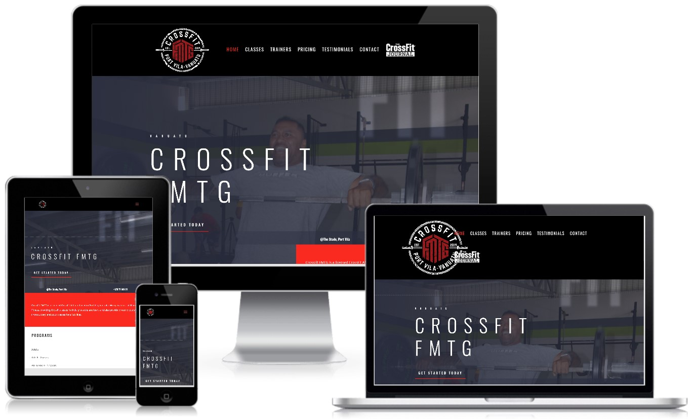 CrossFit FMTG Vanuatu Classes Website and Schedule