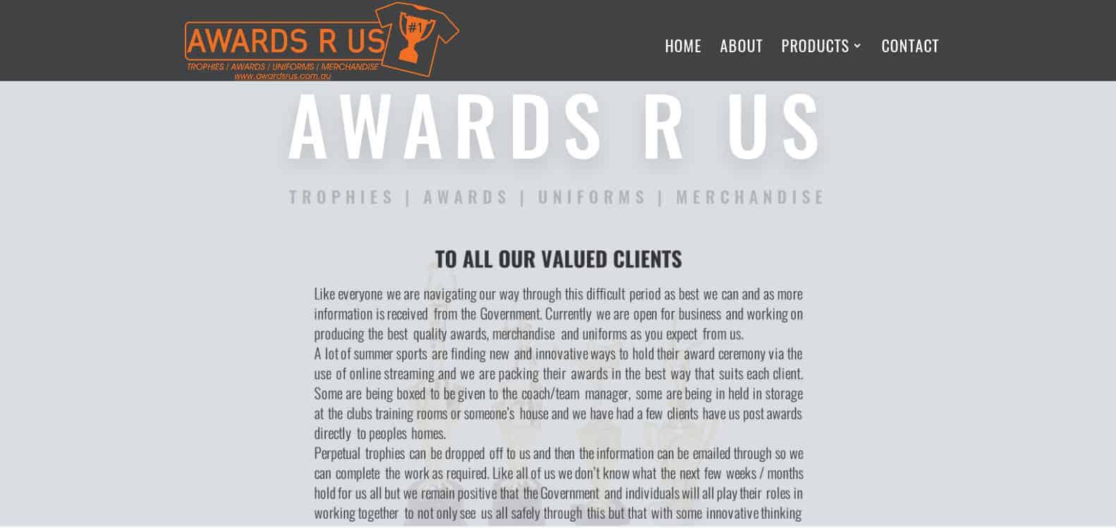 awards r us
