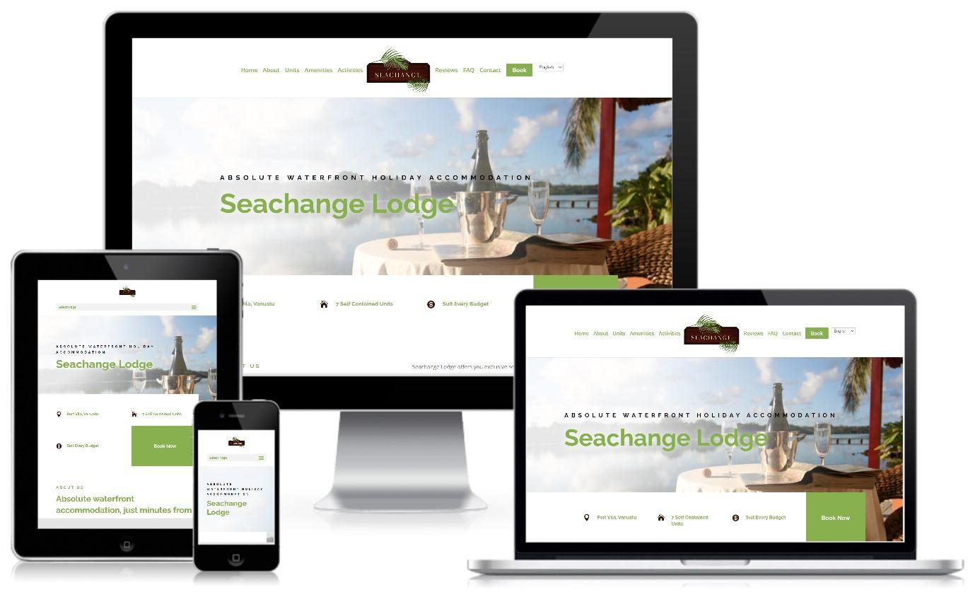 Sea Change Lodge Vanuatu Accomodation
